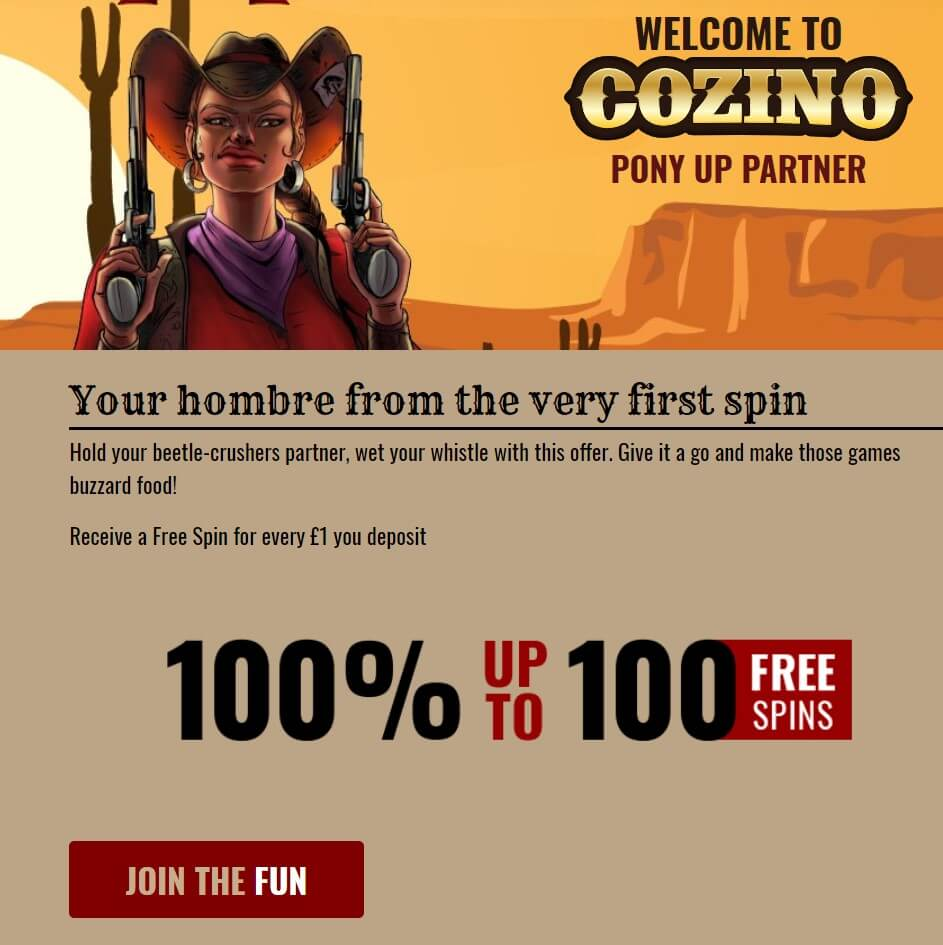Cozino Coupon Code Offer